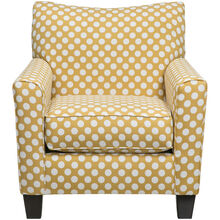 Aero Yellow Accent Chair