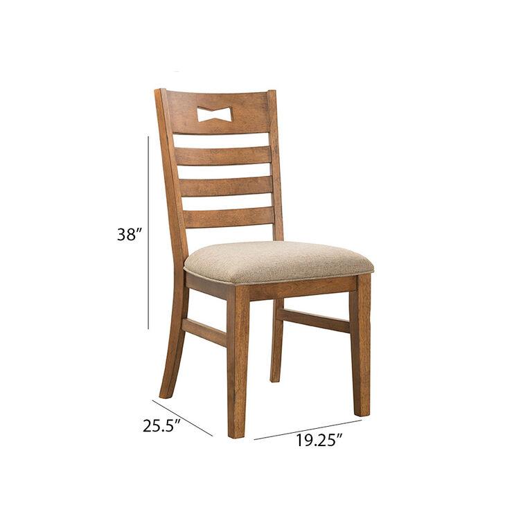 Nantucket Cashew Side Chair
