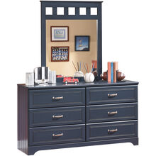 Leo Blue Dresser