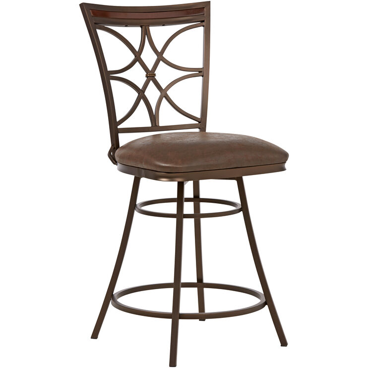 "Jasper Brown 24"" Counter Stool"