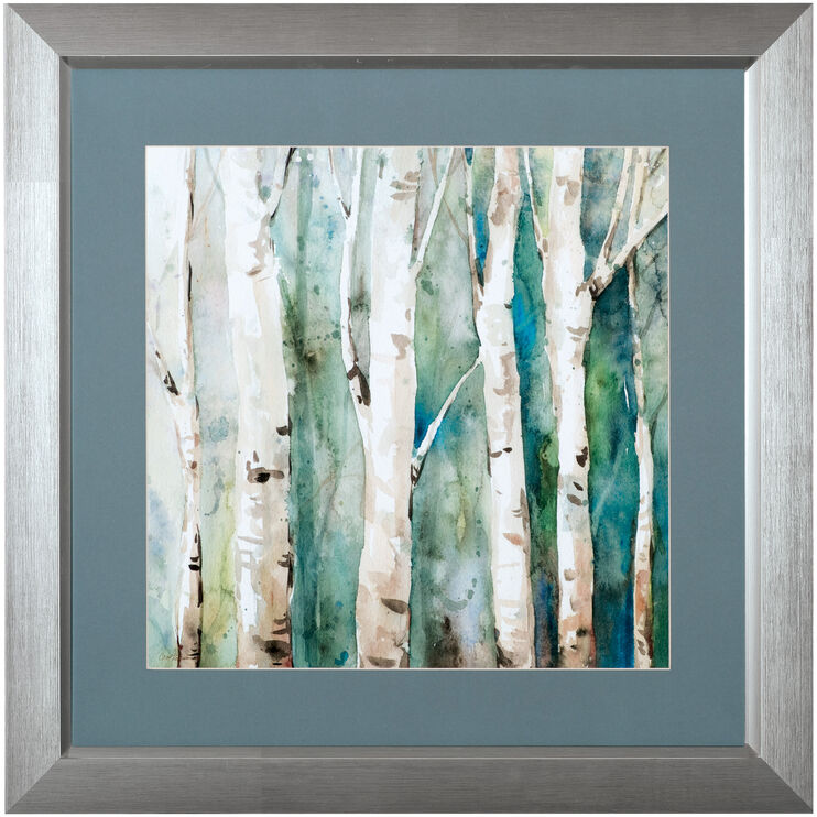 River Birch II Framed Art