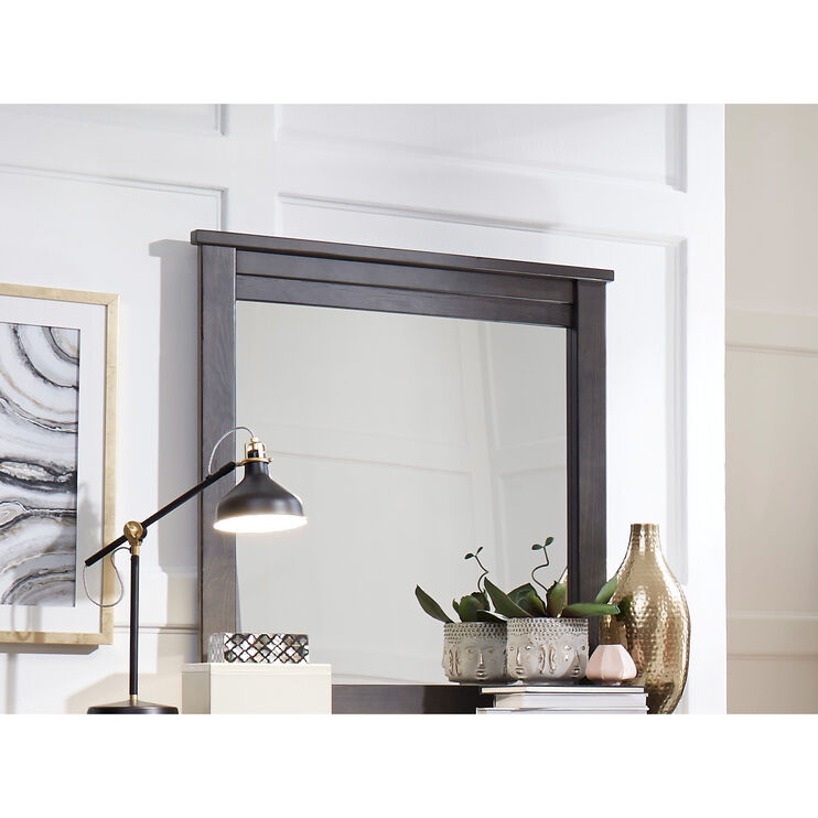 Diego Dark Gray Mirror