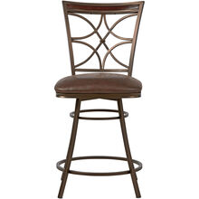 Jasper 24 Inch Brown Counter Stool