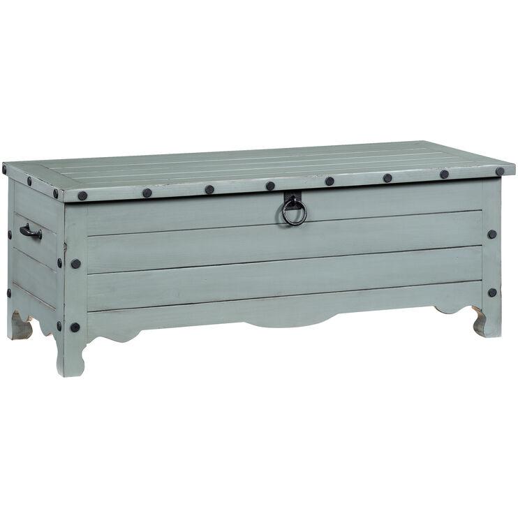 Jesse Gray Storage Bench