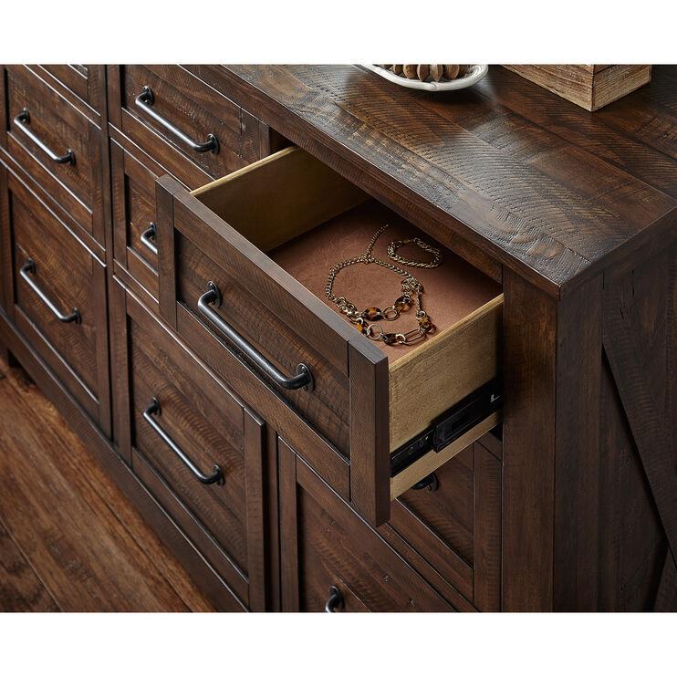 Sun Valley Rustic Timber Dresser