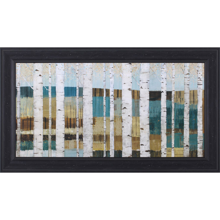 Shimmering Valley Framed Art