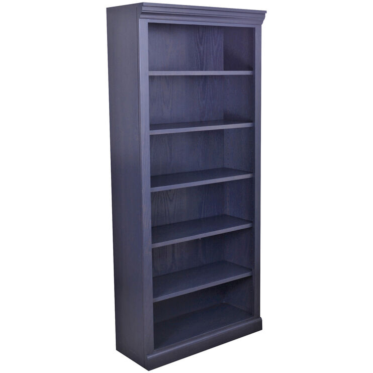 Classic 72 Inch Charcoal Bookcase