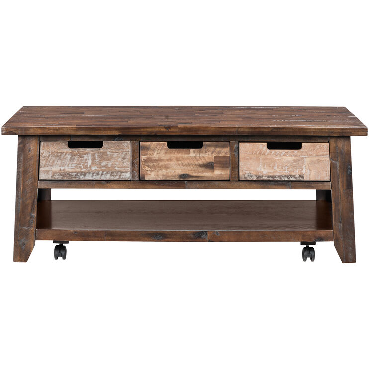 Painted Canyon Chestnut Coffee Table