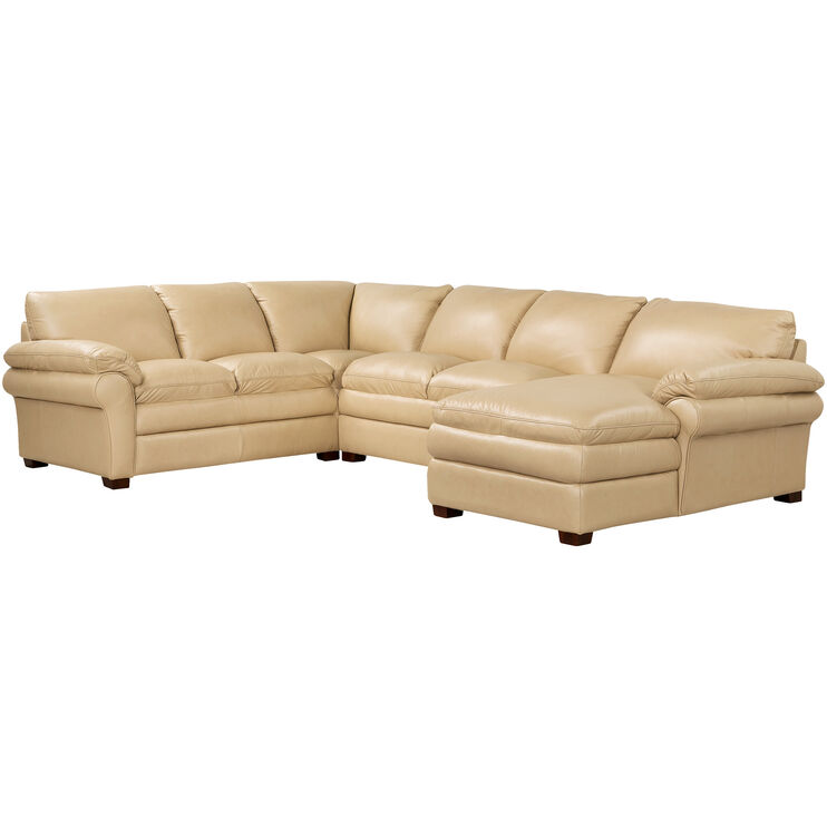 Moldova Sand Right Arm Chaise Sectl