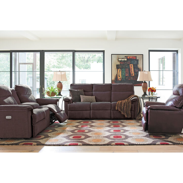 Jay Gray Power Reclining Sofa