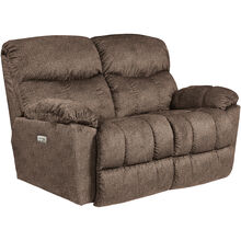 Morrison Cappuccino Power Plus Reclining Loveseat