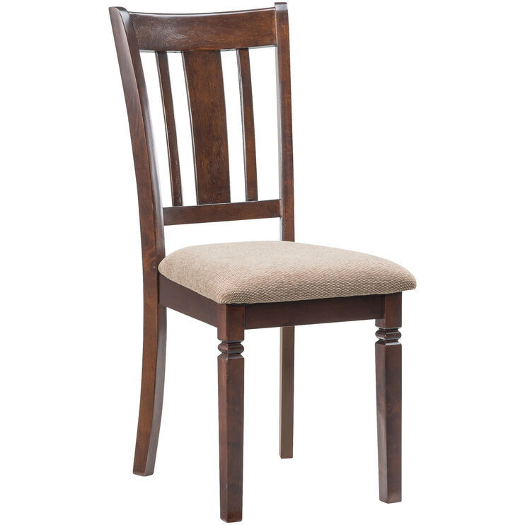 Durham Espresso Side Chair