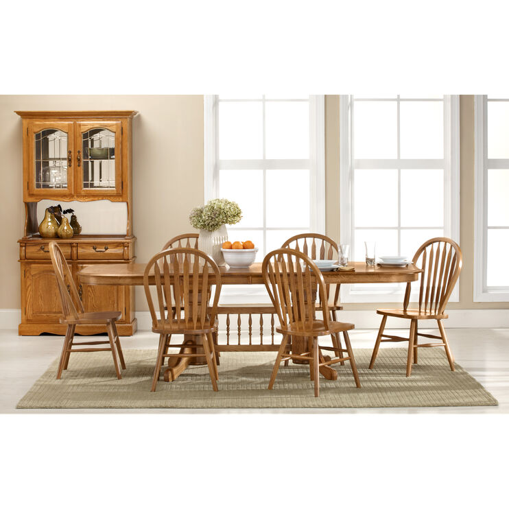 Jefferson 5 Piece Laminate Trestle Set