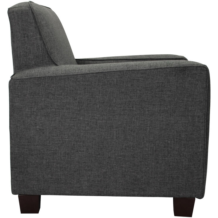 Johnston Gray Accent  Chair