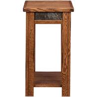 Evanston Rustic Chairside Table