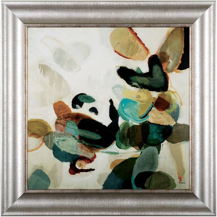 Stone Pattern I Framed Art