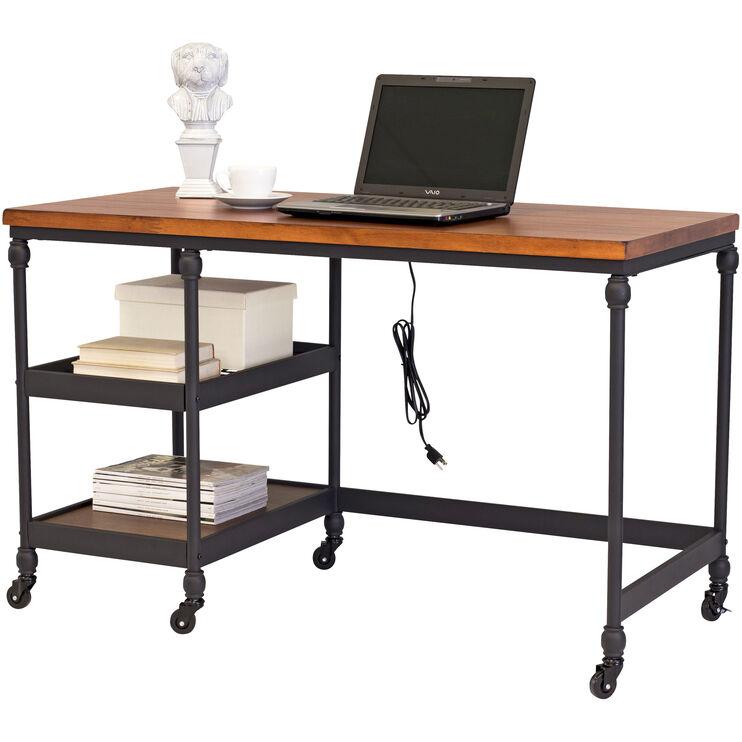 Aiden Brown Cherry Desk