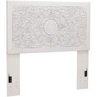 Paxberry Whitewash Queen Panel Headboard