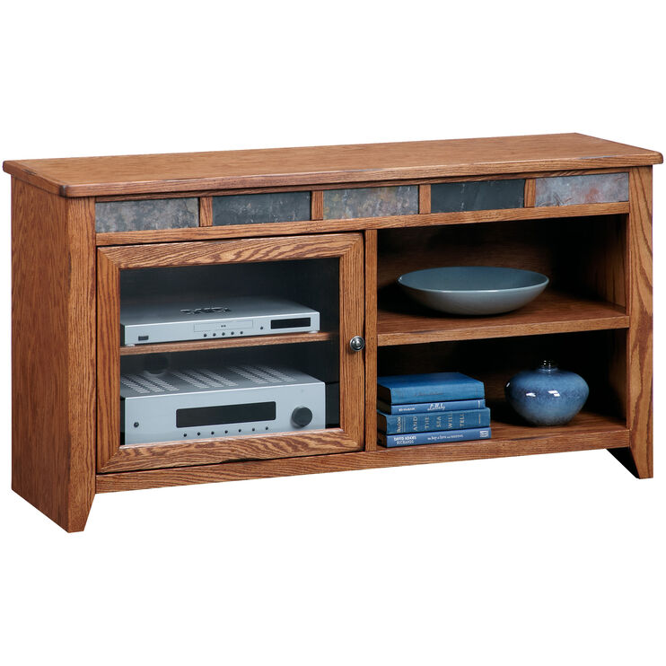 Evanston Antique Oak 54 Inch Console