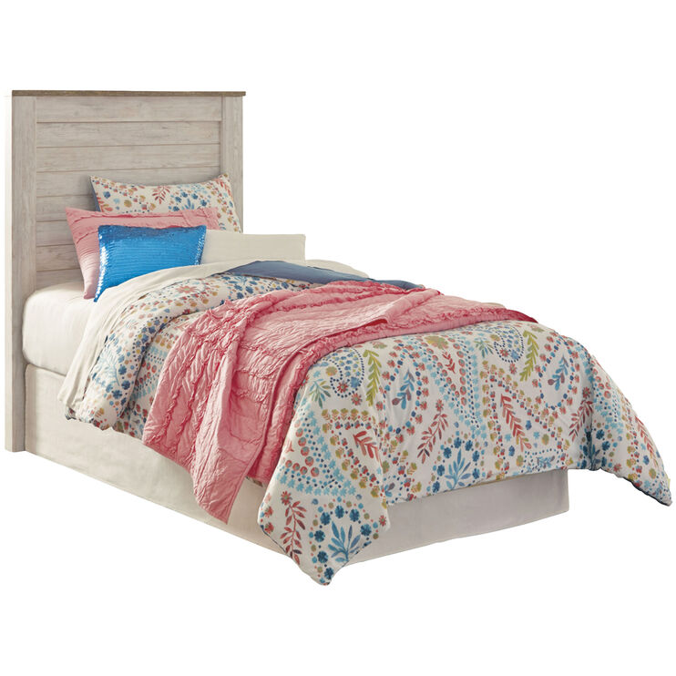 Willowton Whitewash Twin Youth Bed
