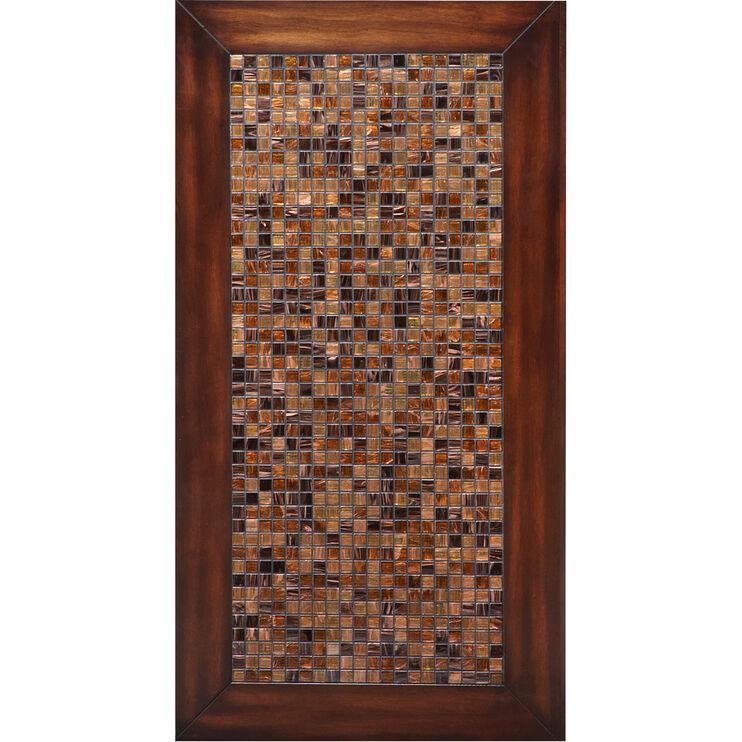 Mosaic Baroqu Brown Sofa Table