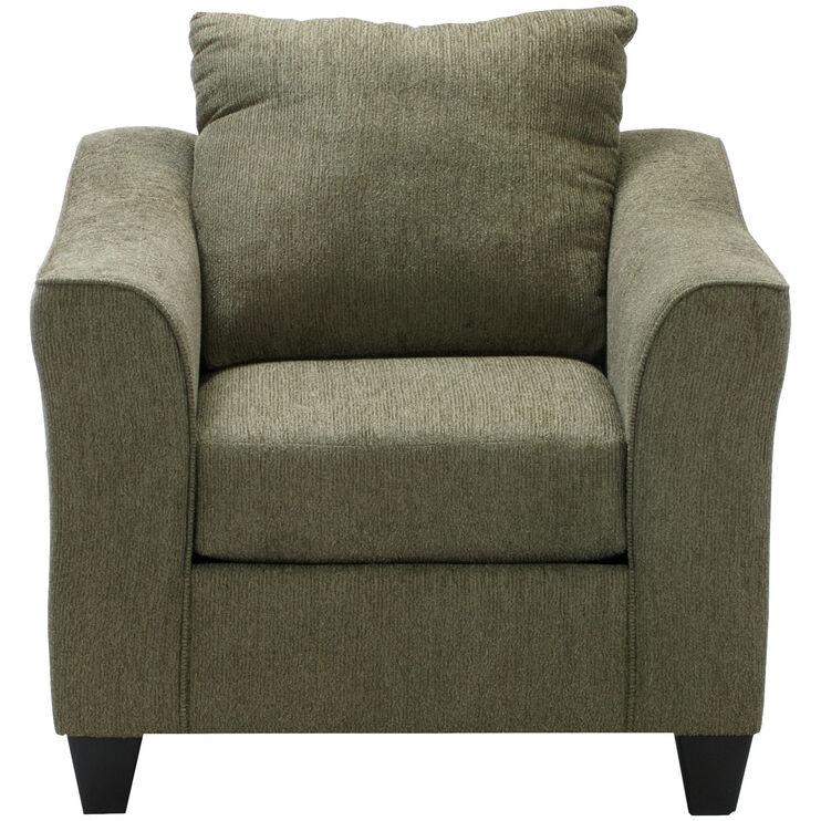 Fiske Terrace Green Chair