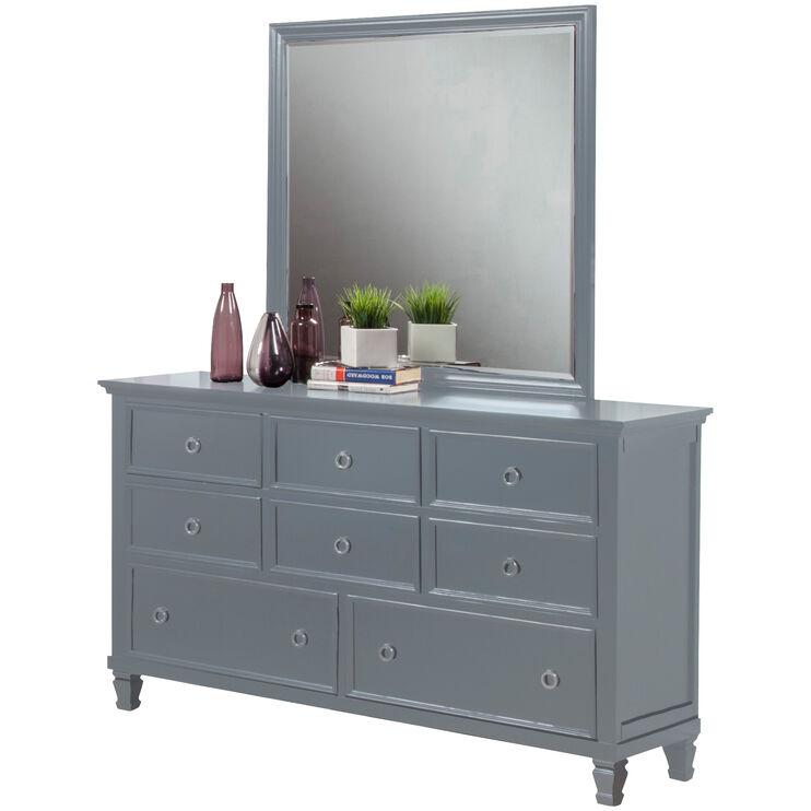 Persia II Gray Mirror
