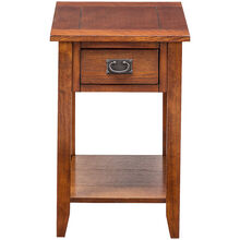 Rutledge Mission Oak Chairside Table
