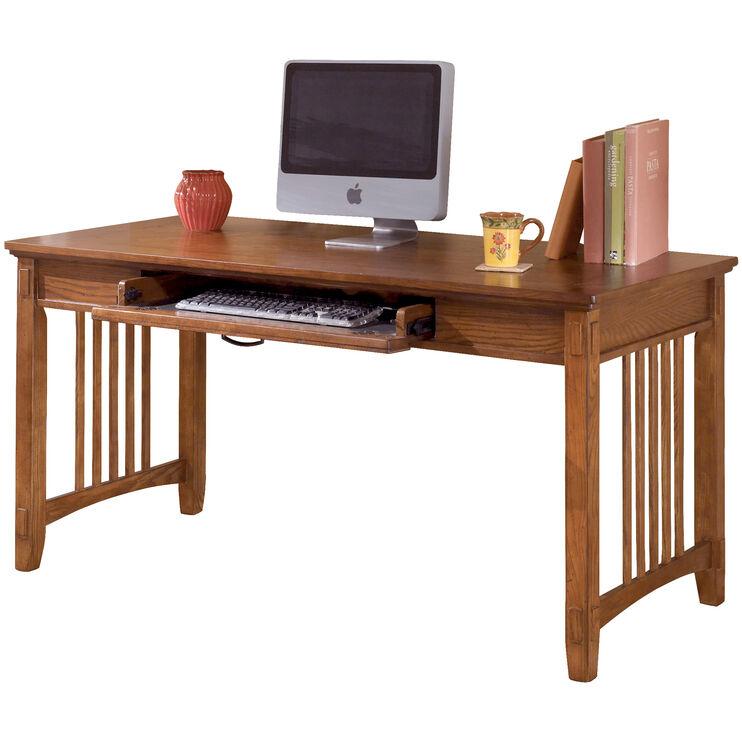 Cross Island Brown Large Desk