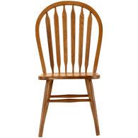 Jefferson Oak Arrow Back Side Chair