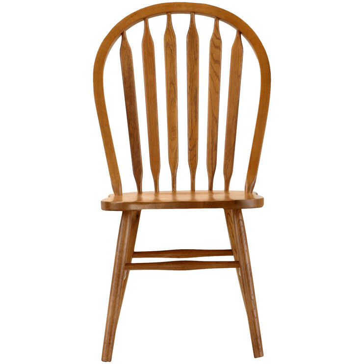 Jefferson Oak Arrow Back Side Chair