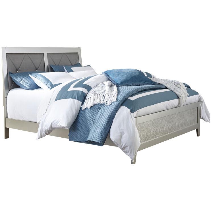Olivet Silvertone Twin Bed