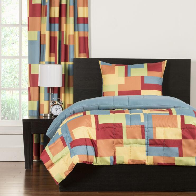 Crayola Paint Box 3pc Twin Comforter Set