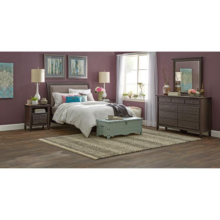 City II Gray Queen Bed