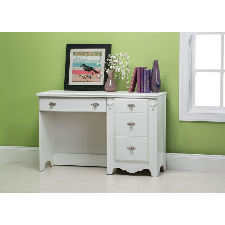 Exquisite White Desk