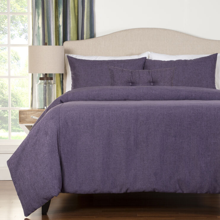 Meadowlark 5 Piece Iris Queen Duvet Set