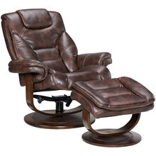 Apex Swivel Lounger & Ottoman
