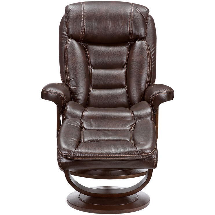 Valdez Swivel Lounger with Ottoman