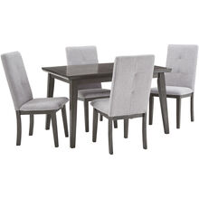 City Line Gray 5 Piece Dining Set