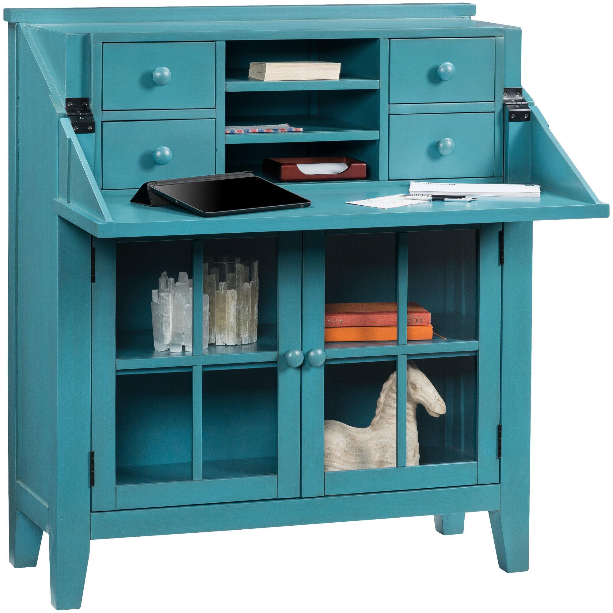 Avery Blue Flip Top Desk