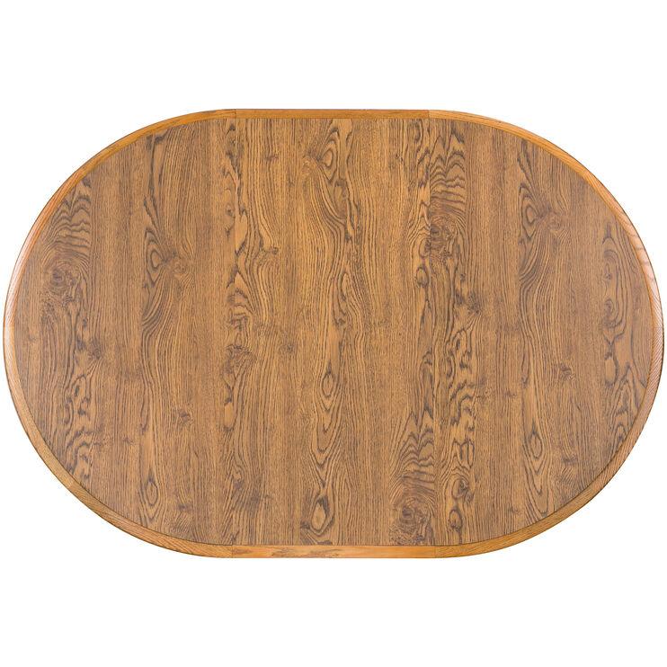 Jefferson Chestnut Laminate Pedestal Table
