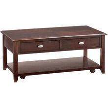 Radcliffe Merlot Coffee Table