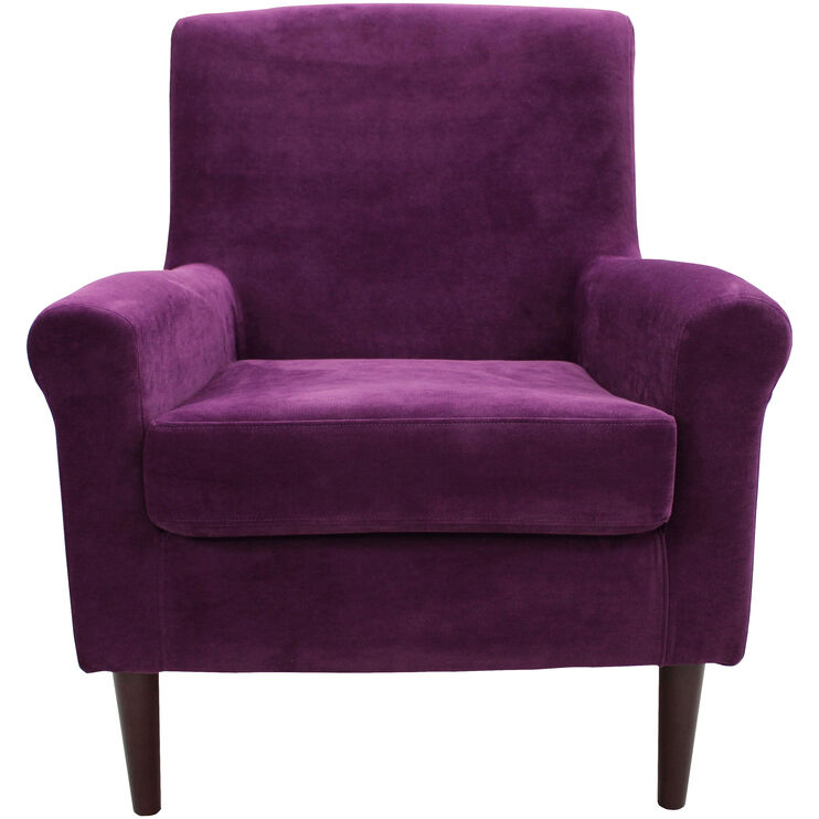 Ellis Violet Accent Chair