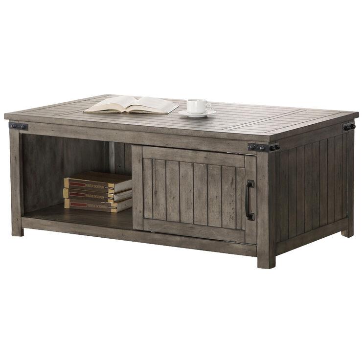 Storehouse Smoke Gray Coffee Table