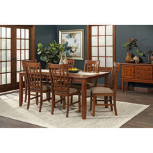 Santa Rosa 7Pc Oak Dining Set