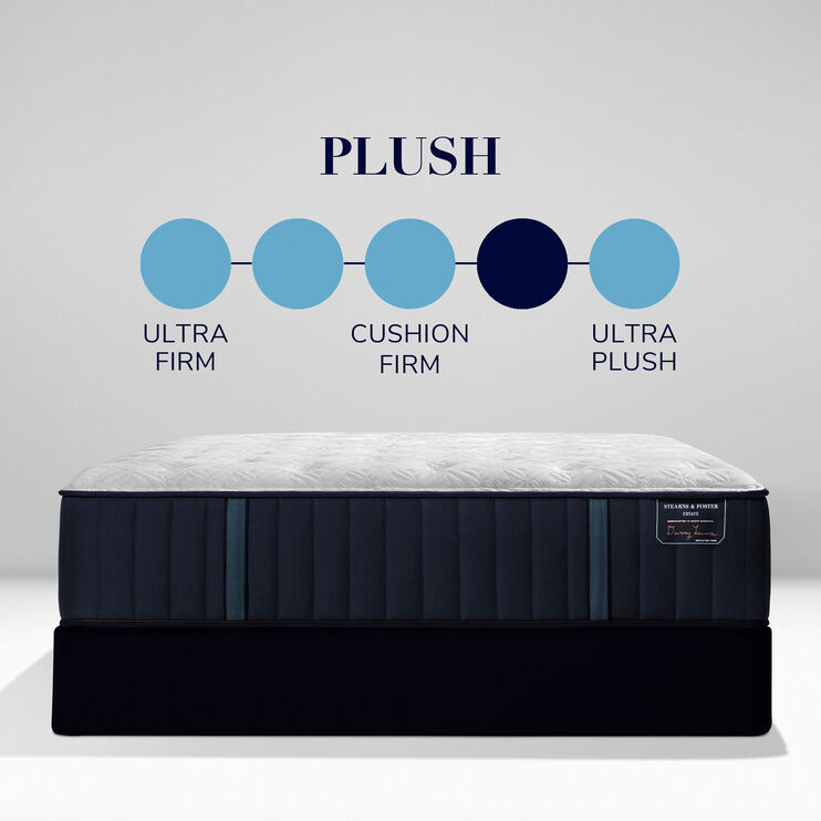 Stearns and Foster Estate Rockwell Plush Full Mattress