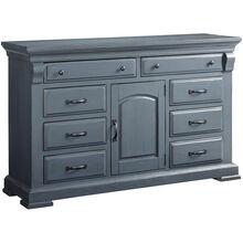Everly Gray Door Dresser