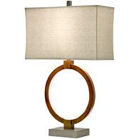 Wellwood Wood Tone Table Lamp