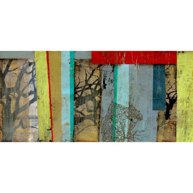 Woven Landscape I Framed Art