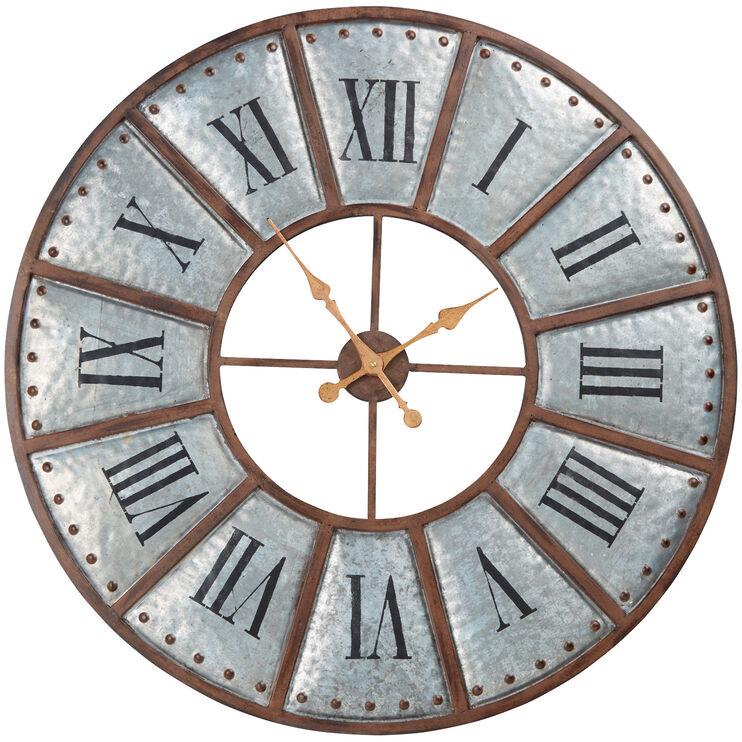 Verona Bronze Wall Clock